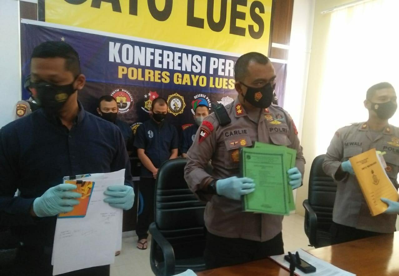 Tersangka Korupsi Tulis Surat Terbuka Hingga Dugaan Fee Rp1,8 M, Ini Kata Kapolres Gayo Lues thumbnail