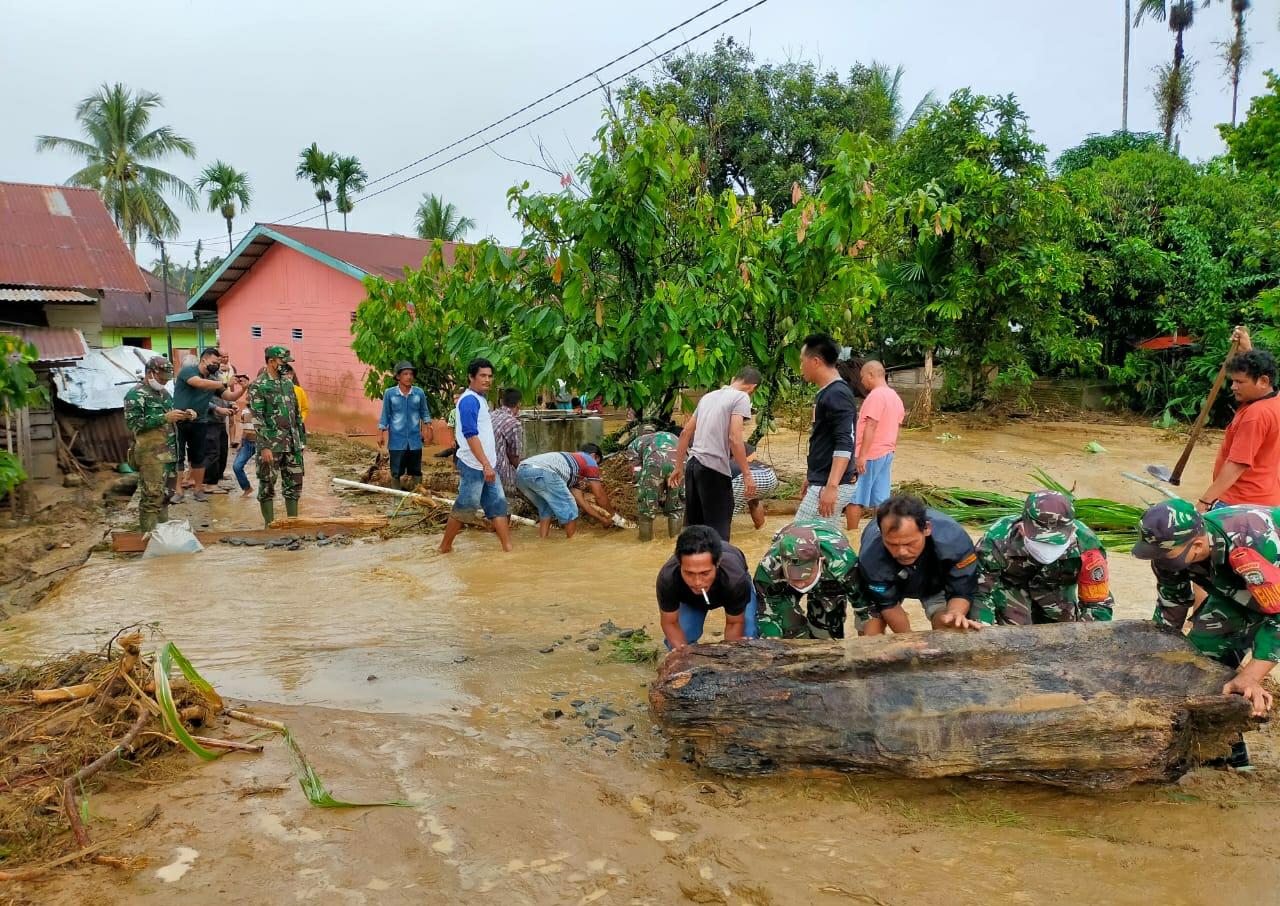 Puluhan Rumah Terendam Banjir di Aceh Tenggara thumbnail